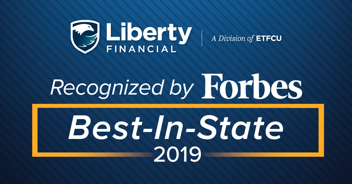 Forbes Names Liberty Financial Best-In-State Credit Union | Liberty  Financial